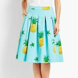 RSVP Talbots pineapple skirt